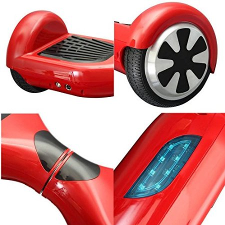 4.4 Ah Electric Self Balancing Scooter Motorised LED Light Two Wheel Scooter
