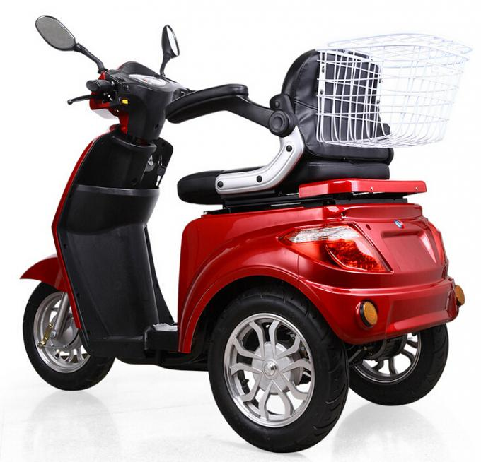 Elderly 3 Wheel Electric Bicycle Middle Speed Electric Motor Tricycle Comfortable