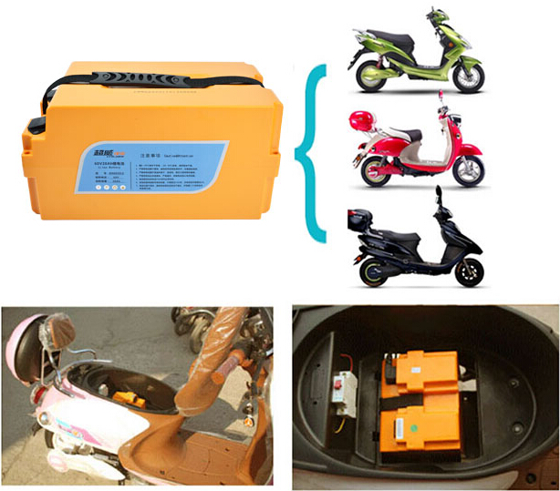 60V20A Lithium Ion Battery Pack 7.1 Kgs Lithium Battery For Electric Scooter