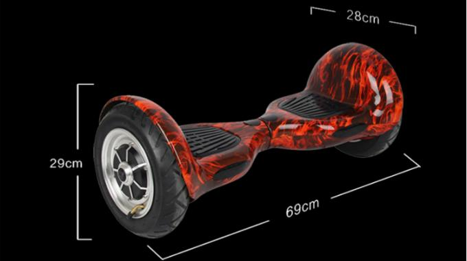 10 Inch Electric Self Balancing Scooter , 36V700W 25Km Two Wheel Battery Scooter