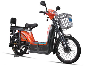 China 450 Watts Adult Electric Bike 60V 20Ah Lead Acid Battery , Long Range Electric Bicycle supplier