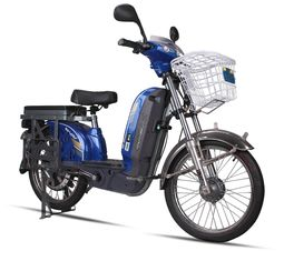 China Commuter Adult Electric Bike , Battery Powered Bicycle With Electric Motor supplier