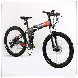 China 36V Folding Electric Bike 25 Km / H Max Speed Folding Electric Mountain Bike factory