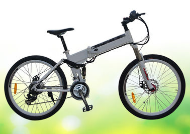 China 50 Pounds Folding Electric Bike 26 Inch Folding Electric Bicycles With Disc Brake factory
