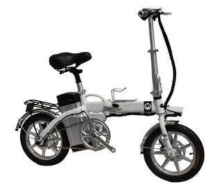 China GB Lithium Battery Powered Folding Electric Bike 40km - 100km Milage distance factory