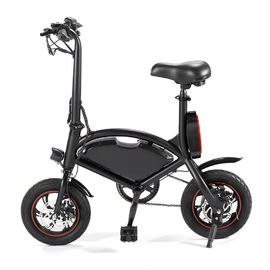 China 12 inch 36V Folding Electric Bike New Design Folding Mini Electric Bicycle factory