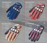 China Non - Slip Electric Motorcycle Parts Waterproof Leather Motorcycle Gloves factory