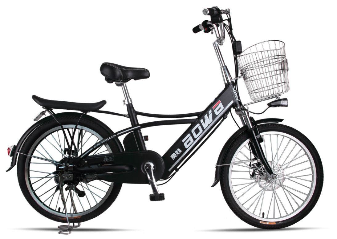 250W Hidden Battery Lithium Bicycle  , Battery Operated Bikes For Adults