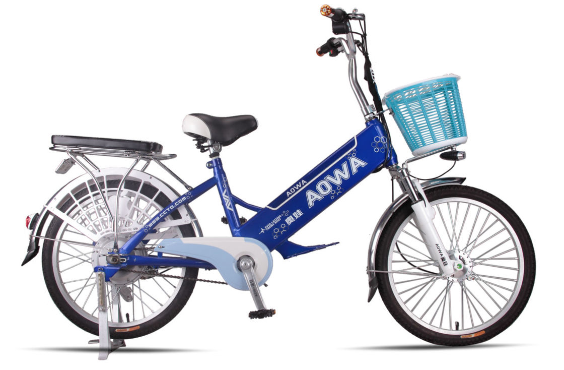 2 Seats Hybrid Electric Bikes 125Kg Power Assisted Bicycle With Battery Power supplier