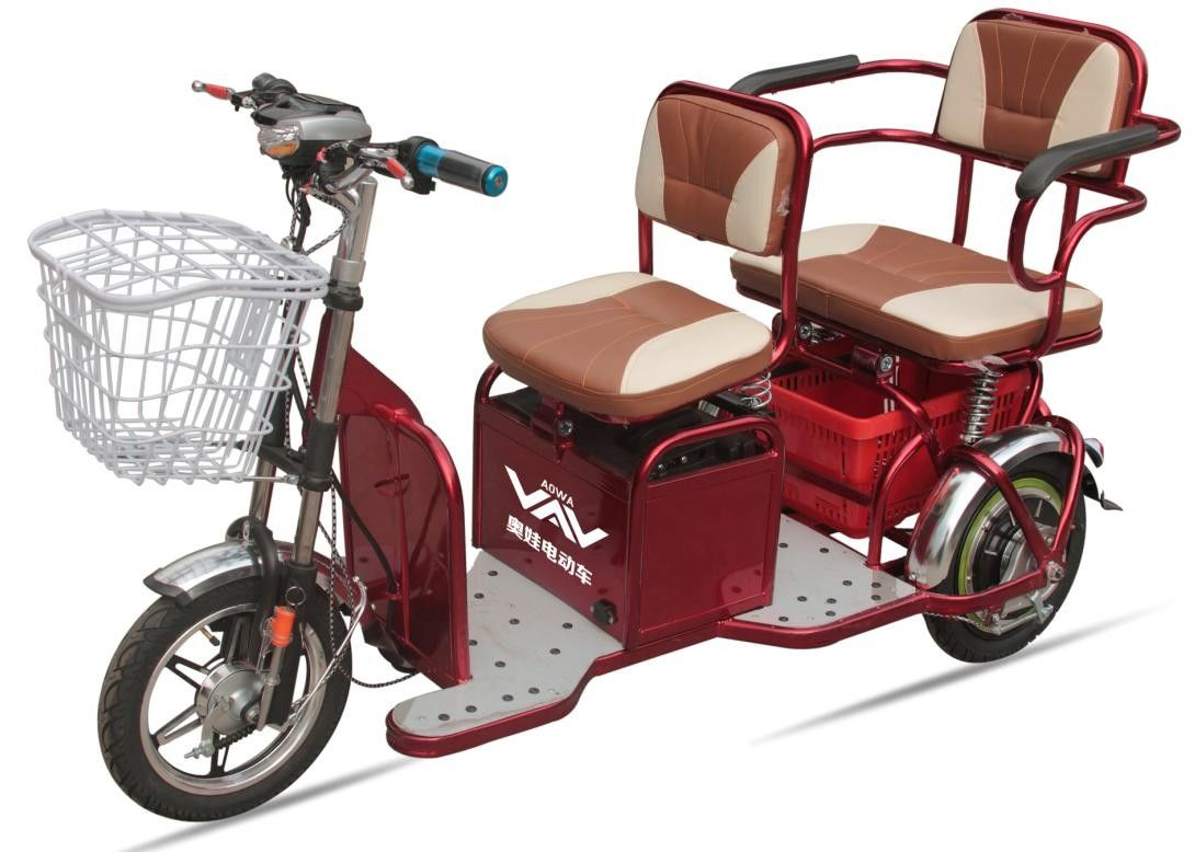 48v20a 350w powered electric tricycles for adults 2 seat. Black Bedroom Furniture Sets. Home Design Ideas