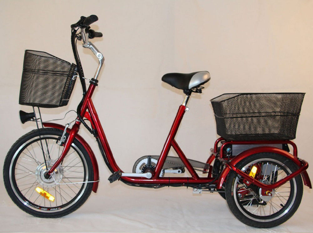 3 wheel electric adult bicycle