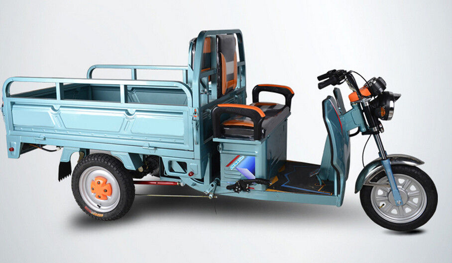Open Body Powerful Electric Tricycles Three Wheel