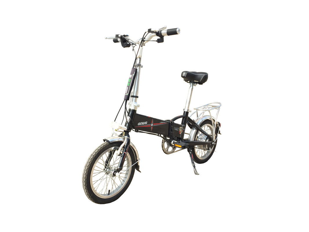 14 Inch Hybrid Folding Electric Bike , Foldable Electric Bicycle With Lithium Battery supplier