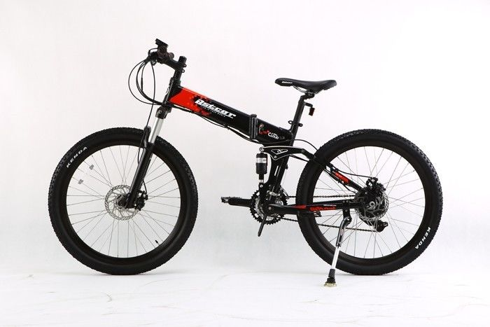 AOWA Electric Motorized Bicycles Safety Electric Folding Bikes With 26''-1.95 Tire supplier