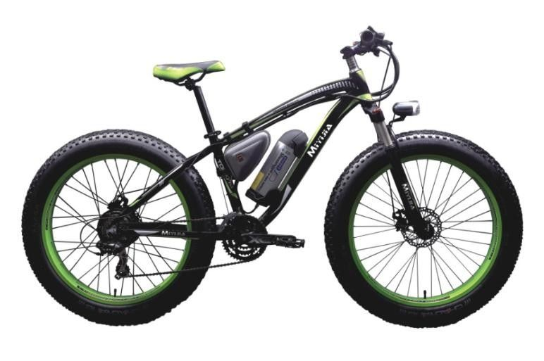 Snow 26''-4.0 Tire Mountain Electric Bike Rear Motor 48V 500W SHIMANO 21 Speed supplier