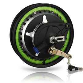 12 Inch Electric Motorcycle Parts , High Torque Brushless Electric Motors With Lock