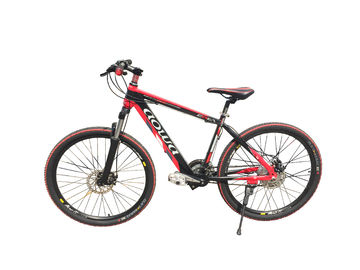26'' Red Specialized Mountain Electric Bike / Electric MTB With Aluminum Alloy Frame